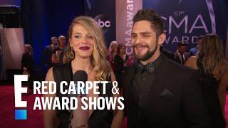 Thomas Rhett Gushes Over Kids & Family at 2017 CMAs | E! Live from the Red Carpet