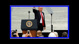 TODAY NEWS - Trump said in a speech that China is a competitor: officers