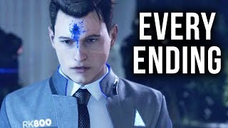Detroit Become Human - The Hostage Demo - 100% EVERY ENDING