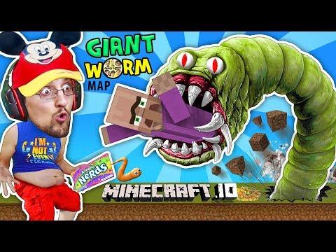 Xxx Mp4 FGTEEV FAT BOY EATS VILLAGERS In MINECRAFT Io Destructive Worms Slither Io Mini Game Adventure Map 3gp Sex