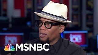 D. L. Hughley: 'Donald Trump Is A Racist'   Morning Joe   MSNBC