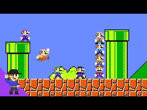 Xxx Mp4 What If 8 Marios Tried To Beat Super Mario Bros 3gp Sex