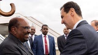 مصر العربية | في أول زيارة لزعيم عربي منذ بدء الصراع السوري البشير يصل سوريا