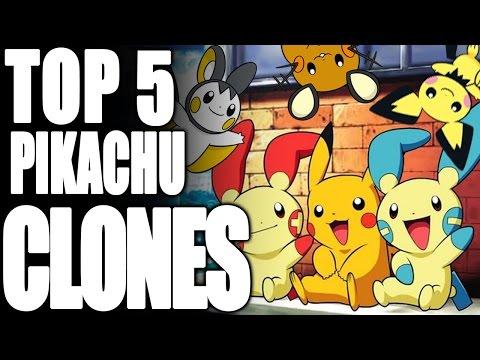 Top 5 Pikachu Clones