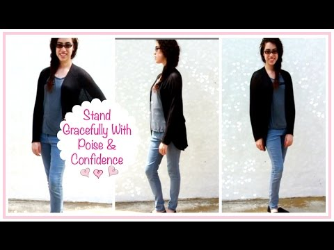 Ladylike Charm: Pose With Poise- Your Guide to a Poised & Confident Stance