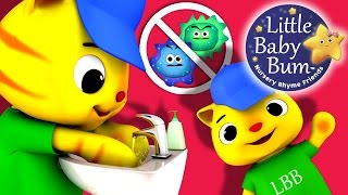 Wash Your Hands Song for Children   Nursery Rhymes   Original Song by LittleBabyBum!