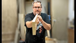 Flattening Warped Plywood Experiment