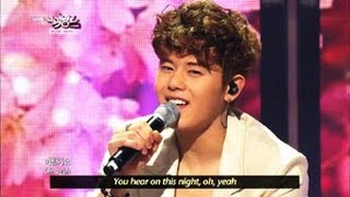 [Music Bank w/ Eng Lyrics] ZE:A X Five - Cherry Blossom Ending (2013.04.27)