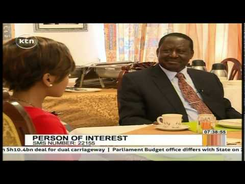 Person of Interest 26th May 2015 Raila Odinga s Private life in details