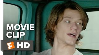 Monster Trucks Movie CLIP - Hiding from the Cops (2017) - Lucas Till Movie