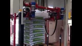 Verpakkingslijn voor potgrond en schors