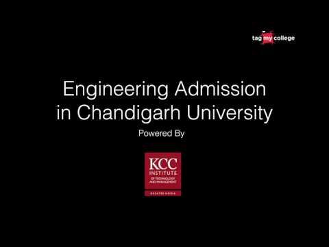 Engineering Admission in Chandigarh University   Counselling for Chandigarh University
