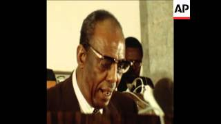 SYND 21 7 78 PRESIDENT BARRE OF SOMALIA SPEECH AGAINST RUSSIANS AT OAU CONFERENCE