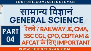 GENERAL SCIENCE PART 4   IMPORTANT PHYSICS OBJECTIVE QUESTIONS FOR CEPTAM 9, SSC, RAILWAYS, & CTET
