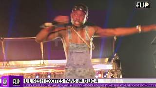LIL KESH EXCITES FANS @ OLAMIDE'S OLIC 4