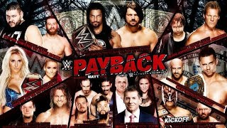 wwe payback 2016 highlight full show
