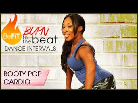 Burn to the Beat Dance Intervals Booty Pop Cardio Dance Workout Keaira LaShae