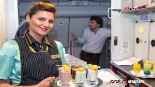 Kuwait Airways KU 103 رحلة تجريبية للخطوط الجوية الكويتية