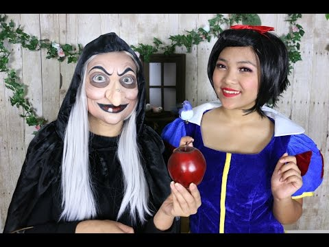 Snow White 'Witch' Makeup Tutorial