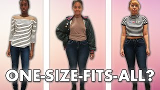 Women Try One-Size-Fits-All Jeans