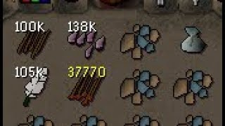 Lifetime Supply of Arrows for T-Bow - RuneScape Ironman 174