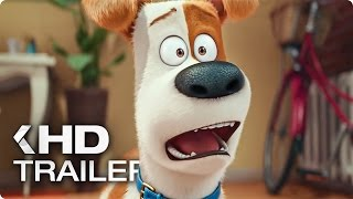 The Secret Life of Pets ALL Trailer & Clips (2016)