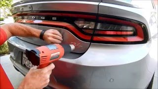 2016 Dodge Charger Debadge: Expert car debadging by Auto Fetish