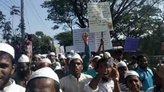 মায়ানমার মুসলিম রোহিঙ্গাদের বাজিতপুর বাজারে(5)
