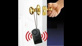 II Door Alarm ll how to make anti theft door alarm