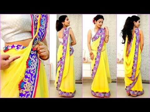 Xxx Mp4 4 NEW Saree Draping Styles How To Wear Sari Perfectly To Look SLIM TALL Anaysa 3gp Sex