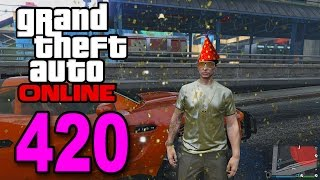 Grand Theft Auto 5 Multiplayer - Part 420 - THE BIRTHDAY EPISODE! (GTA Online)