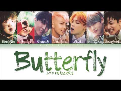 BTS Butterfly Color Coded Lyrics Eng Rom Han 가사