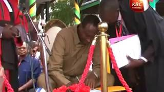 Mohamed Abdi Mohamud sworn in as new Wajir governor