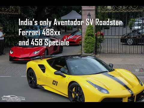Xxx Mp4 India S Only Aventador SV Roadster Ferrari 488xx And Speciale 3gp Sex