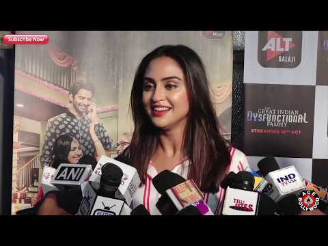 Xxx Mp4 Krystle Dsouza At Screening Of Web Series The Great Indian Dysfunctional Family 3gp Sex