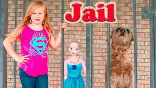 ASSISTANT TheEngineeringFamily Funny Kids Video with Dog Ryan in Puppy Trouble + Frozen Elsa
