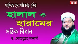 bangla waz|হালাল ও হারামের বিধান| Mowlana Dr Anayet Ullah Abbasi 2017| ICB Digital