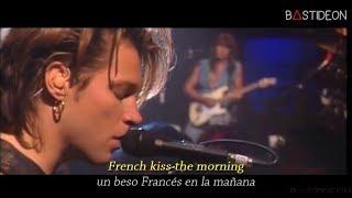 Bon Jovi - Bed Of Roses (Sub Español + Lyrics)