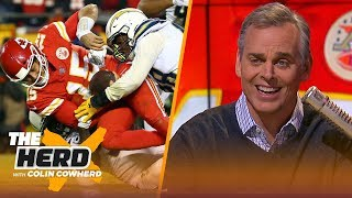Colin Cowherd reiterates Mahomes criticism, says Steelers-Pats