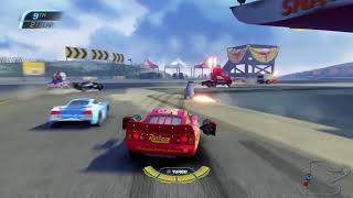Cars 3: Driven to Win - How to change/use weapons & How to get rid of Sticky Mines (Short Tutorial)