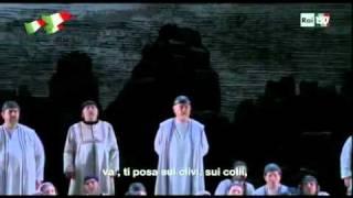 Va pensiero - Muti speech with English translation and encore
