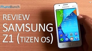 Samsung Z1 Tizen Full Review