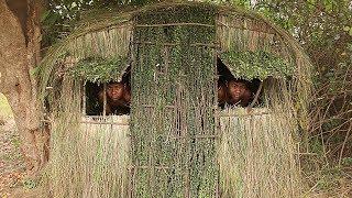 Primitive Technology: Update A Grass Hut
