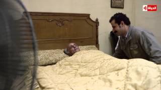 """والد """"سليمان"""" يتوفى وهو فى طريقة للهرب .... الحلقة 28 من مسلسل """" بين السرايات """""""