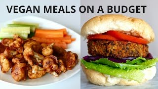 VEGAN MEALS ON A BUDGET (UNDER $3)