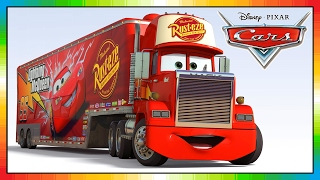 MACK truck cars disney - from the cars movie and game, Friend of Lightning McQueen and Mater