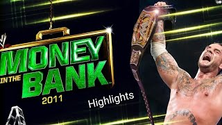 Highlights CM Punk vs. Cena Money in the bank 2011