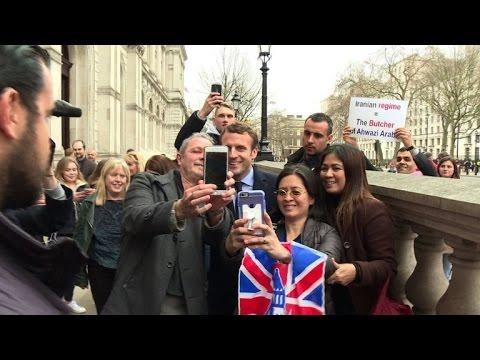 Emmanuel Macron à Londres pour voir Therasa May et tenir meeting