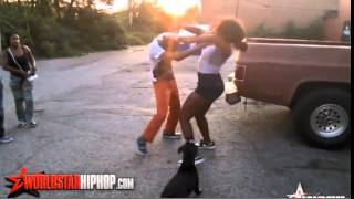 Boy fights Girl because HE STOLE from Her !