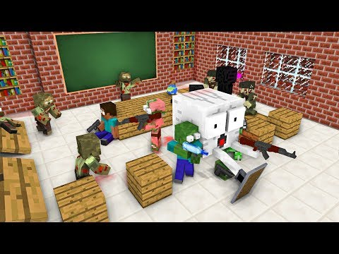 Xxx Mp4 Monster School ZOMBIE APOCALYPSE ATTACK Minecraft Animation 3gp Sex